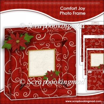 Comfort Joy Photo Frame