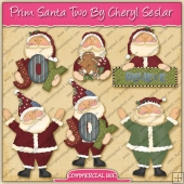 Prim Santa's Two Graphic Collection - REF - CS