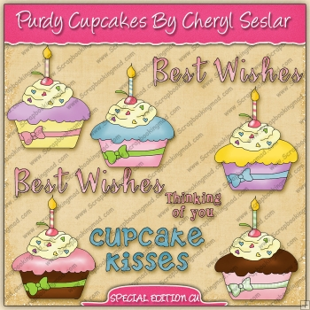 Purdy Cupcakes Collection - SPECIAL EDITION
