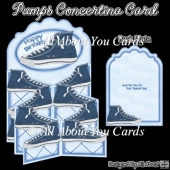 Pumps Concertina Card