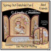 Spring Out Gatefold Card - Best Friends