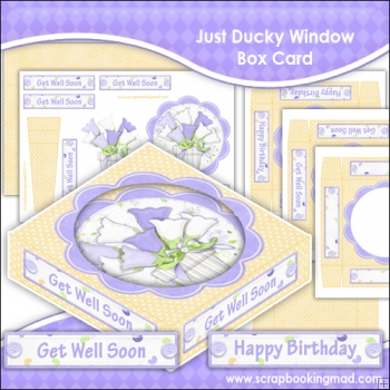 Just Ducky Window Box Card