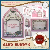 Female Graduation Arched Fold Card Kit