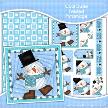 Cool Dude Christmas Twisted Pyramage Download