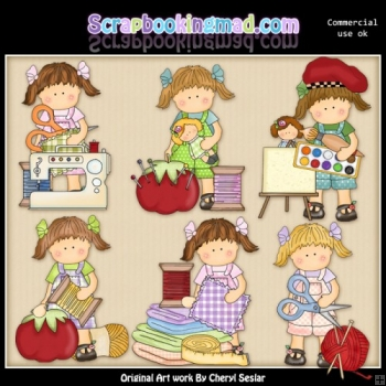 Maggies Craft Room ClipArt Collection