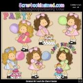 Zoe's Birthday ClipArt Collection