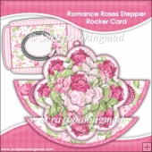 Romance Roses Rocker Stepper Card