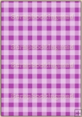 A4 Backing Papers Single - Lilac Gingham - REF_BP_153