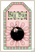 Pink Lady Bug Tag - REF_T142