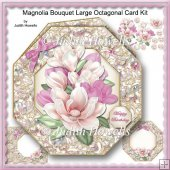 Magnolia Bouquet Large Octagonal Card Kit