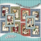 10 Winter Wonderland Quick Cards PDF Download