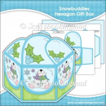Snowbuddies Hexagon Gift Box