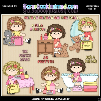 Charlottes So Pretty ClipArt Collection