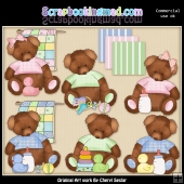 Tattered Baby Teddies Collection - SPECIAL EDITION