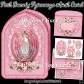 Pink Beauty Pyramage Arch Card
