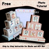 Baby Blocks & Gift Box Tutorial