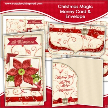 Christmas Magic Money Card & Envelope