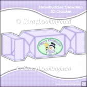 Snowbuddies Snowman 3D Cracker