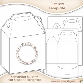 large gift box template doc how to diy simple paper gift box from