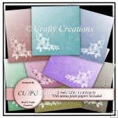 CU/PU Papers - Lovely Lilies