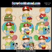 Ruperts Has A Birthday ClipArt Collection