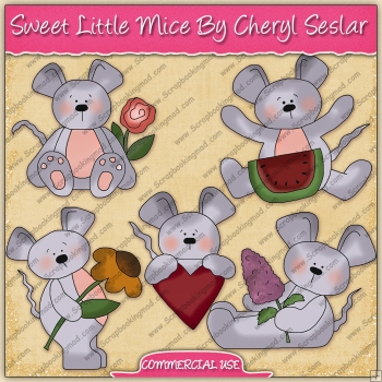 Sweet Little Mice Graphic Collection - REF - CS