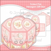 Tickled Pink Hexagon Gift Box