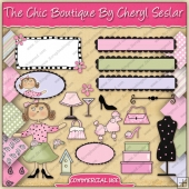 The Chic Boutique Graphic Collection - REF - CS