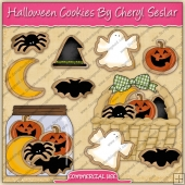 Halloween Cookies Graphic Collection - REF - CS