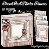 Great Owl Photo Frame