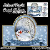 Silent Night Card Topper