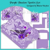 Purple Passion Notelet Set