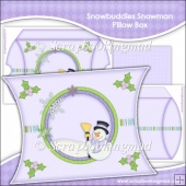 Snowbuddies Snowman Pillow Box EXTRA LARGE