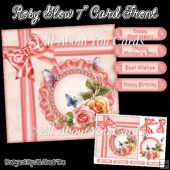 Rosy Glow 7 Inch Card Front