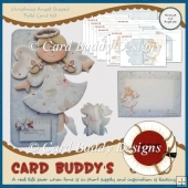 Christmas Angel Shaped Fold Card Kit