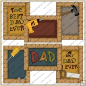 6 The Best Dad Ever Quick Cards PDF Download