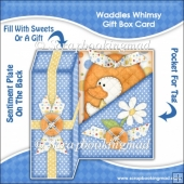 Waddles Whimsy Gift Box Card