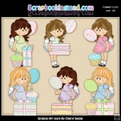 Gretas Birthday ClipArt Collection