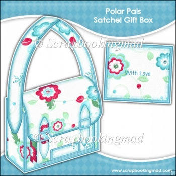 Polar Pal Christmas Satchel Gift Box