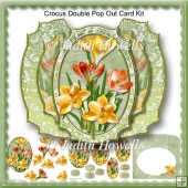Crocus Double Pop Out Card Kit