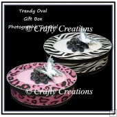 Oval Gift Box - Photographic Tutorial