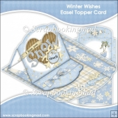 Winter Wishes Easel Topper Card