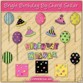 Bright Birthday Graphic Collection - REF - CS