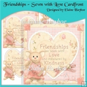 Friendships - Sewn With Love Cardfront