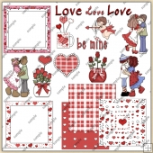 Valentine ClipArt Graphic Collection
