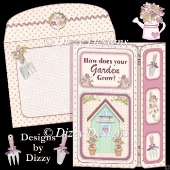 How Does Your Garden Grow Offset Gatefold Card