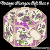 Vintage Hexagon Gift Box 4