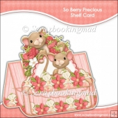 So Berry Precious Shelf Card & Card Box