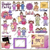 Sleepover Collection 2 ClipArt Graphic Collection