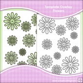 Template Overlay Flower Sheet